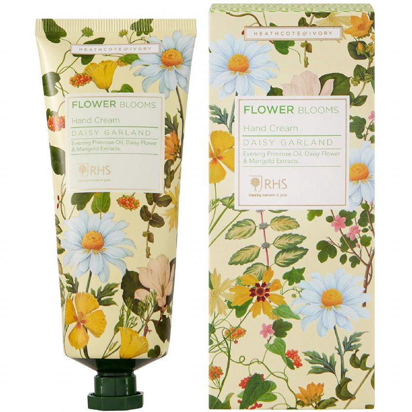 Daisy Garland - RHS Flower Blooms Scented Hand Cream Heathcote & Ivory 100ml
